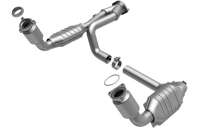 Magnaflow DF Catalytic Converter For 2002-2002 Cadillac