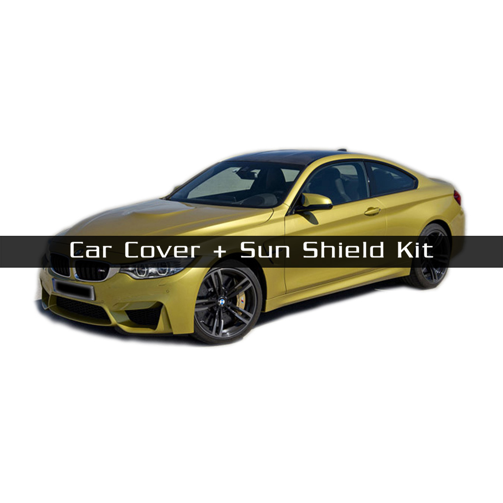 MCarcovers Fit Car Cover + Sun Shade