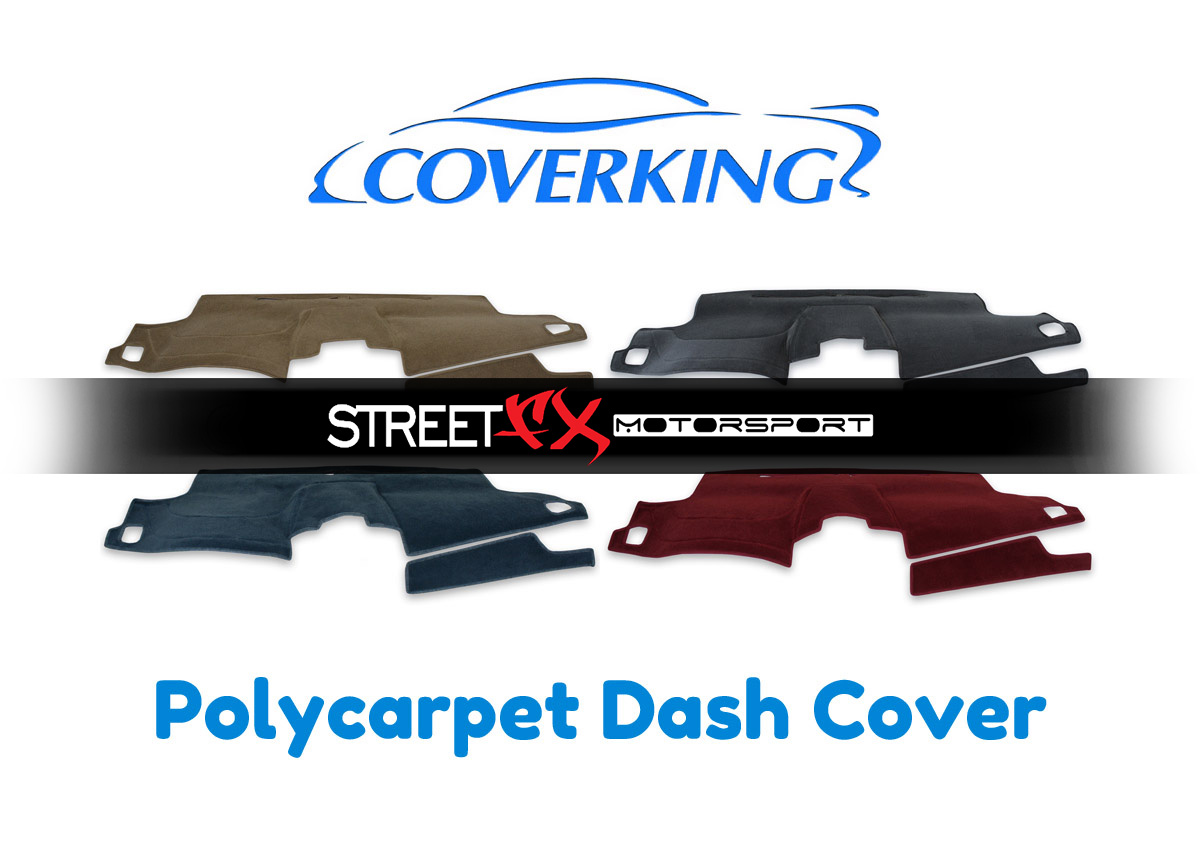 Poly Carpet Black Coverking Custom Fit Dashcovers for Select BMW X5 Models