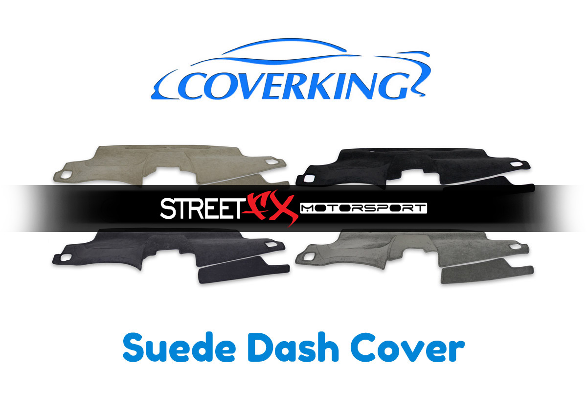 Suede Coverking Custom Fit Dashcovers for Select Cadillac Escalade Models Beige