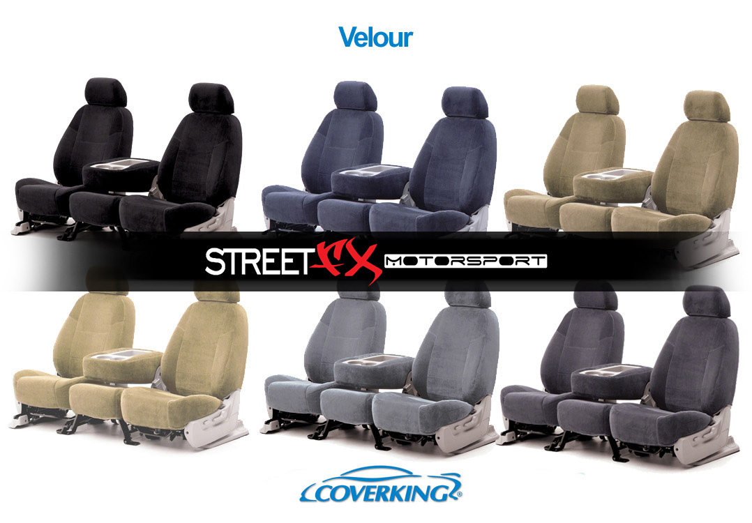 Enjoyable Details About Coverking Velour Custom Seat Covers For Ford Econoline Van E150 E250 E350 Machost Co Dining Chair Design Ideas Machostcouk